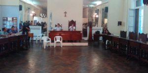 La sesión fue presidida por el Concejal Silvio Martini.