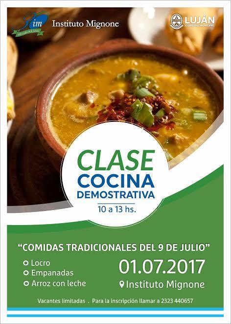 Flyer cocina argentina